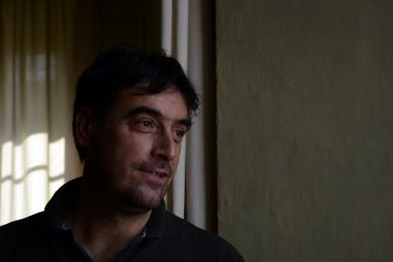 Alberto Alessandri in the Mayor's Office.