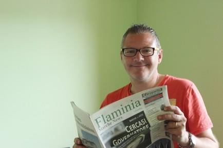 Guido Giovagnoli runs Cagli-based Flaminia Marche News, a free newspaper covering the small towns of the region.